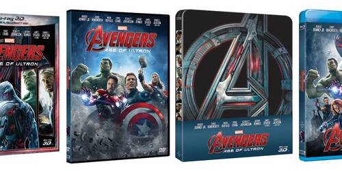 Avengers: Age of Ultron in DVD, Blu-ray, BD3D