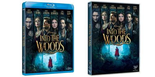 Into the Woods in DVD, Blu-ray