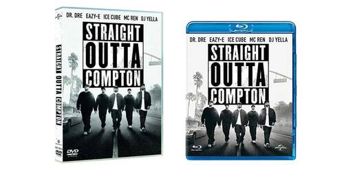 Straight Outta Compton in DVD, Blu-ray