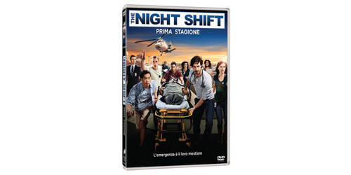 The Night Shift - Stagione 1 in DVD