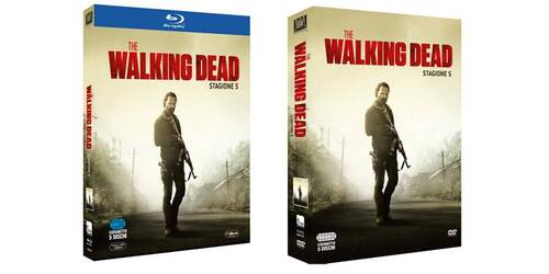 The Walking Dead - Stagione 5 in DVD, Blu-ray
