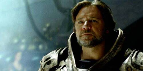 Russell Crowe L'uomo d'acciaio