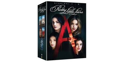 Pretty Little Liars - Le Prime Cinque Stagioni Complete in cofanetto DVD
