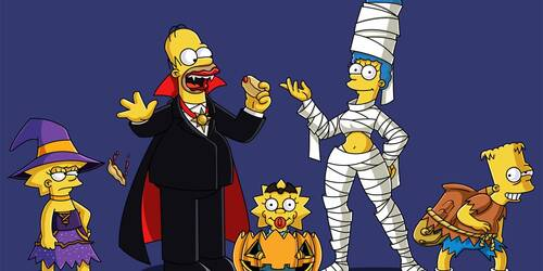 Halloween I Simpson [credit: FOX]