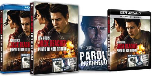 Jack Reacher - Punto di non ritorno in DVD, Blu-ray e 4k Ultra HD