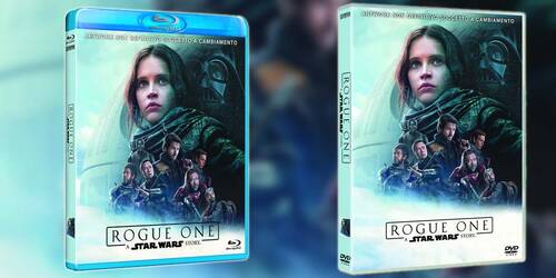 Rogue One: A Star Wars Story in DVD e Blu-ray
