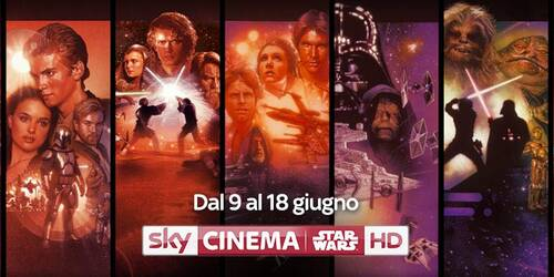 Sky Cinema Star Wars 2017