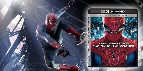The Amazing Spider-Man in Blu-ray 4k Ultra HD