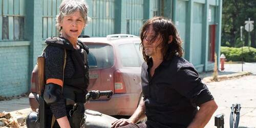 The Walking Dead: prima foto dalla stagione 8 con Daryl e Carol
