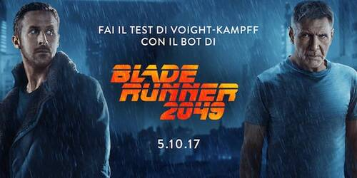 Blade Runner 2049, disponibile il Test Voight-Kampff