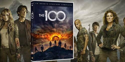 The 100 stagione 4 in DVD