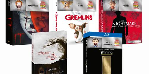 Gremlins, Shining, Nightmare, IT e The Conjuring Universe: i cofanetti DVD e Blu-ray Warner per Halloween 2018