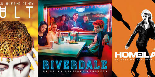 Riverdale 1, American Horror Story 7, Homeland 7 e Sex and The City serie completa in DVD