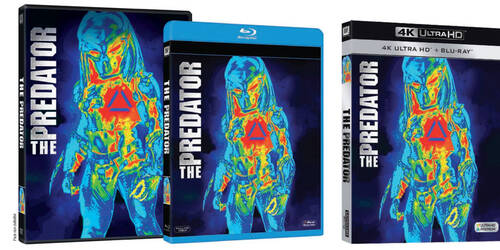 The Predator in DVD, Blu-ray, UltraHD e Digitale
