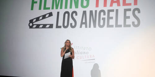 Filming Italy - Los Angeles 2020 [credit: courtesy of Ufficio Stampa Filming Italy - Los Angeles]
