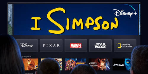 I Simpson in streaming su Disney Plus in Italia