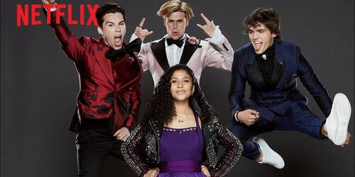 Julie and the Phantoms la nuova serie musicale Netflix targata Kenny Ortega