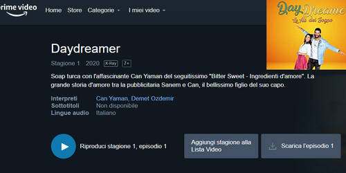 Daydreamer - Le ali del sogno su Amazon Prime Video