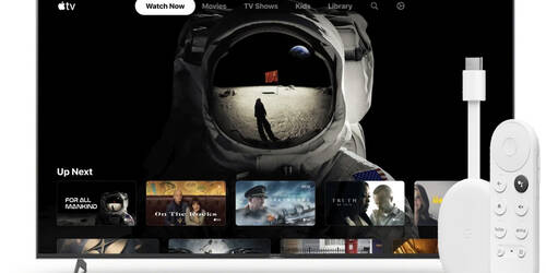 App Apple TV in arrivo su Chromecast con Google TV