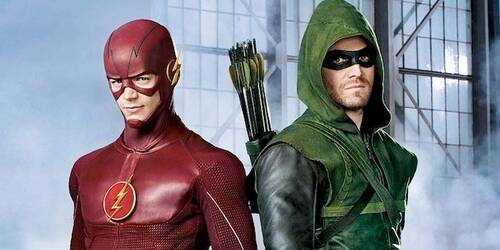 The Flash e Arrow