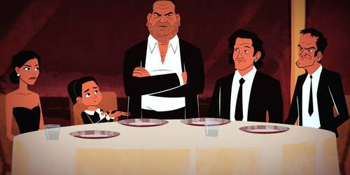 QT8- Quentin Tarantino: The First Eight - Animazione [credit: courtesy of Lucky Red]