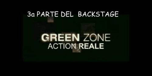 Green Zone - Backstage 3 - Action reale