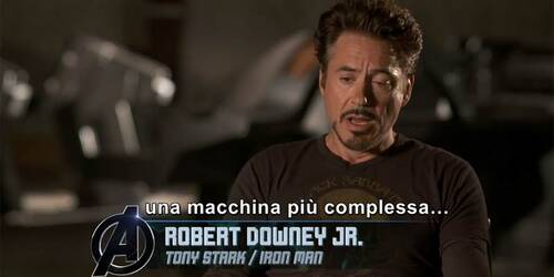Pod Corsa sfrenata - The Avengers