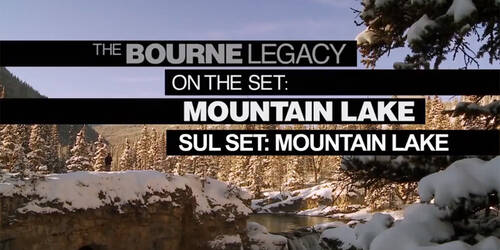 Featurette Sul set del lago in montagna - The Bourne Legacy