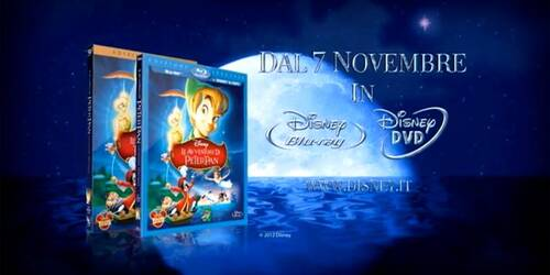 Promo Le Avventure di Peter Pan in Disney Blu-ray e DVD