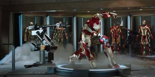 Clip Salvataggio dell'Air Force One - Iron Man 3