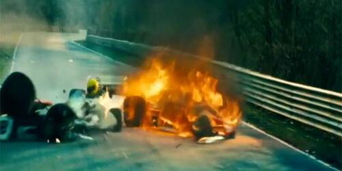 Clip Incidente Lauda - Rush
