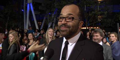 Intervista Jeffrey Wright - Premiere Los Angeles - Hunger Games: La ragazza di fuoco
