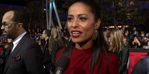 Intervista Meta Golding - Premiere Los Angeles - Hunger Games: La ragazza di fuoco
