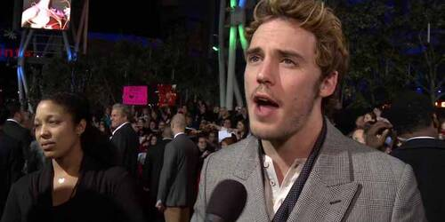 Intervista Sam Claflin - Premiere Los Angeles - Hunger Games: La ragazza di fuoco