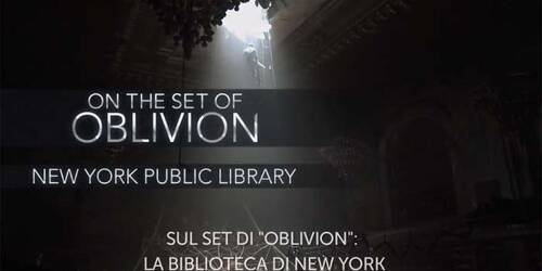 Backstage la biblioteca di New York - Oblivion
