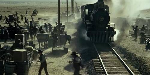 Clip Disastro Ferroviario - The Lone Ranger