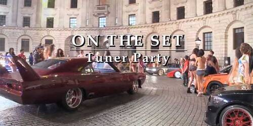 Featurette Sul set di Fast and Furious 6: le riprese del Tuner Party