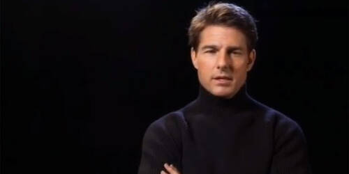 Intervista a Tom Cruise - Oblivion