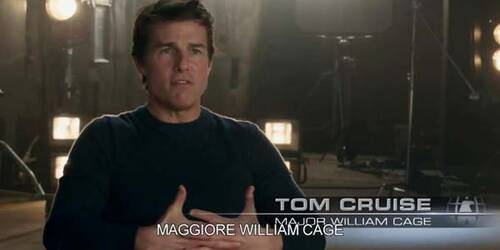 Edge of Tomorrow - Featurette Tom Cruise sul set