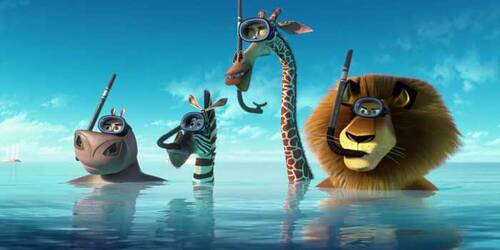 Clip Snorkeling - Madagascar 3 - Ricercati in Europa
