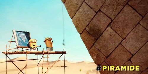 Minions - Mini Clip Piramide