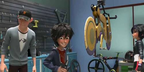 Big Hero 6 - Clip Incontra GoGo