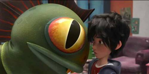 Big Hero 6 - Clip Incontra Fred