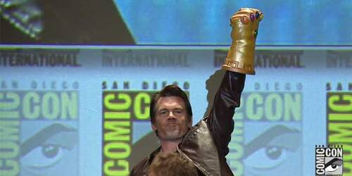 Comic-Con 2014: Josh Brolin entra in sala H come Thanos al Panel Marvel