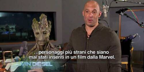 Featurette Groot e Rocket - Guardiani della Galassia