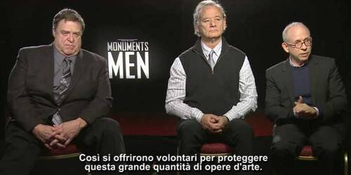 Featurette Monuments Men: Bill Murray - John Goodman - Bob Balaban