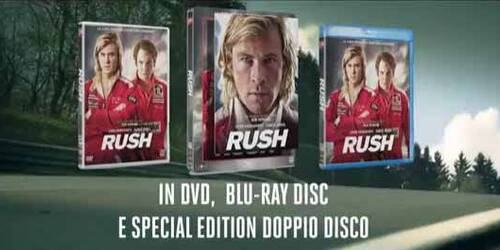 Promo - Rush in DVD e Blu-ray
