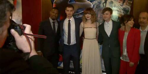 The Amazing Spider-Man 2 - NYC Premiere HighLights