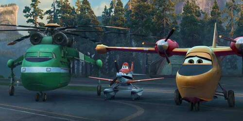 Trailer 2 - Planes: Fire and Rescue