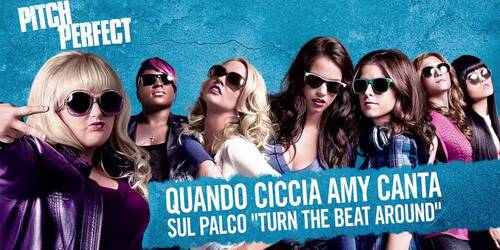 Pitch Perfect - Clip Ciccia Amy canta sul palco Turn the Beat Around